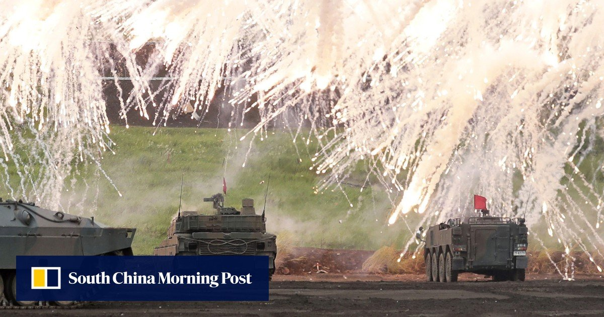 North Korea claims Japan wants to become 'military giant' and is