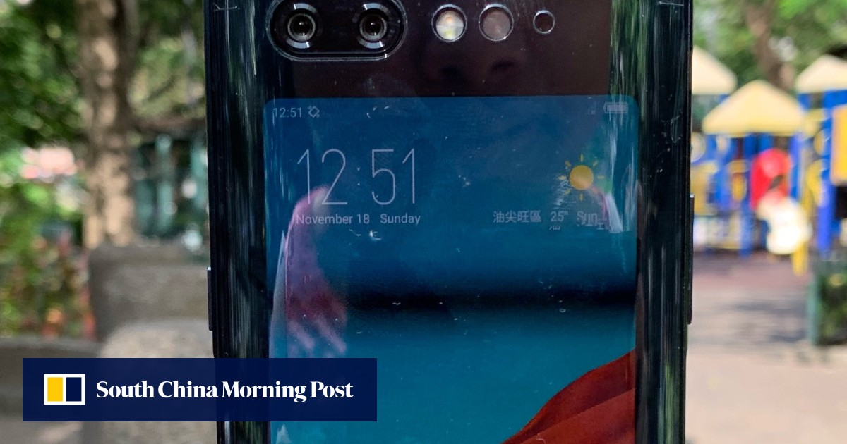 6c5602c60a Nubia X dual screen phone first impressions: notch-free handset well  designed, but cameras are a let-down | South China Morning Post