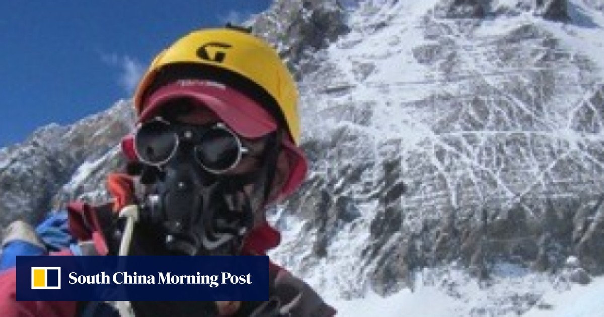 Hongkonger's book looks at how to tackle Mount Everest