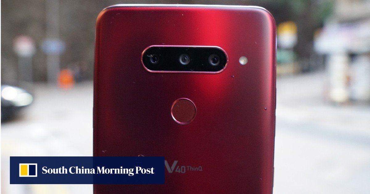 LG V40 ThinQ smartphone: best Android video phone, perfect