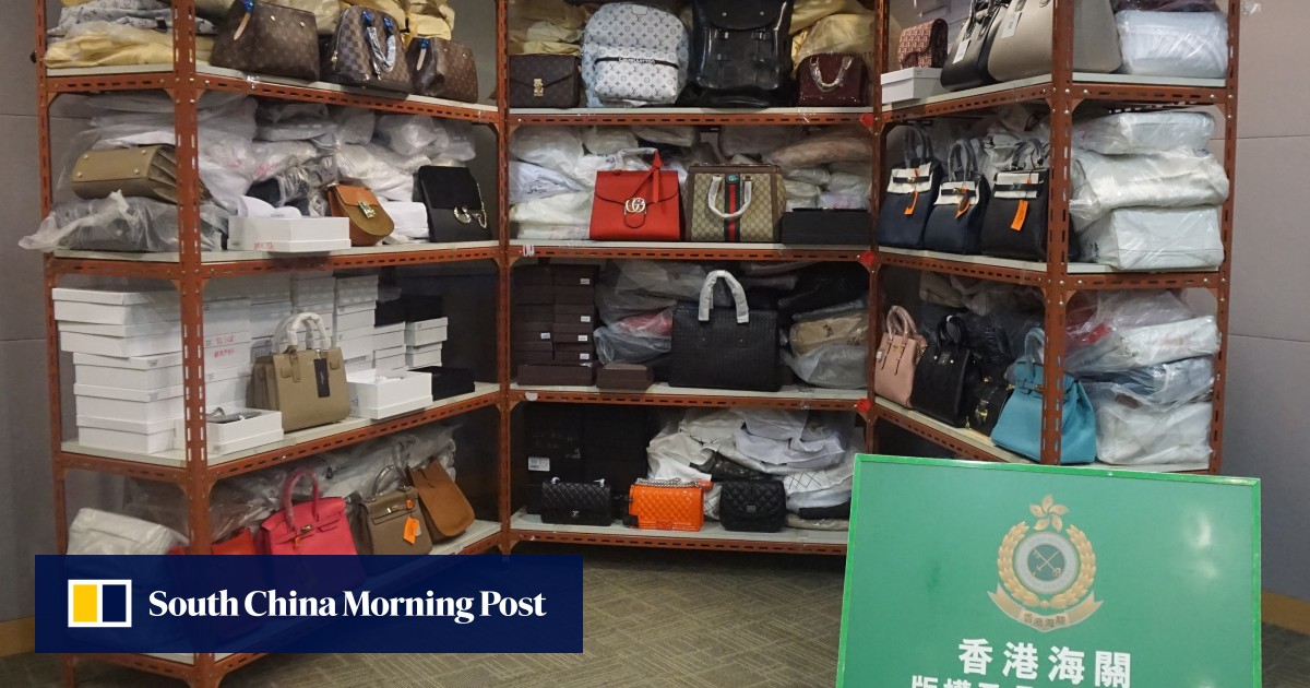 HK$3 million worth of fakes seized as Ladies' Market counterfeiters held