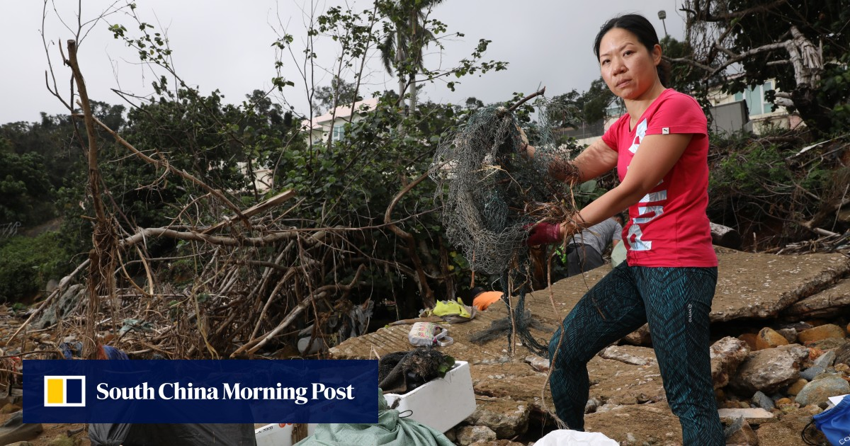 A Hong Kong scuba diver's one-woman mission to fight marine pollution through beach and ocean clean-ups