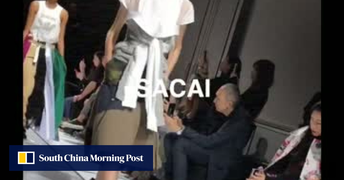 48197edafd70 Sacai's spring/summer 2018 collection at Paris Fashion Week | South China  Morning Post