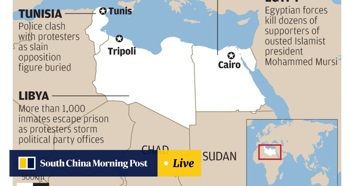 Arab Spring nations in turmoil as unrest spreads across Egypt and