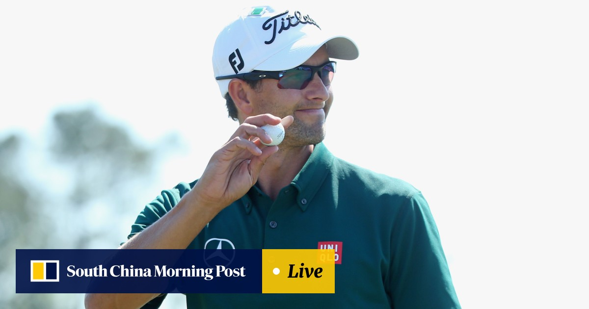 8f49e8a624db4 Nerveless Adam Scott starts Masters defence in fine form as Bill Haas leads  way | South China Morning Post