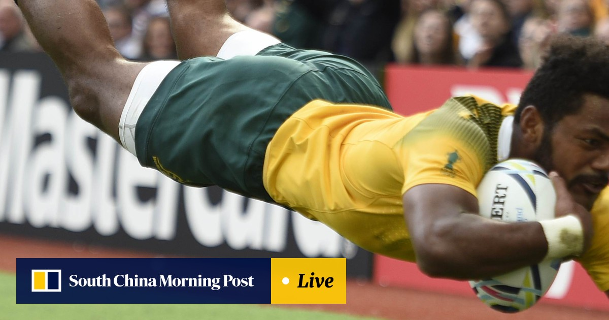 Wallabies crush Uruguay running in 11 tries by eight players to top
