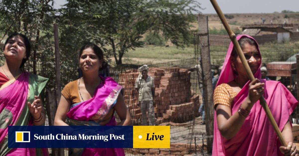 Meet the Gulabi Gang: stick-wielding women vigilantes standing up to
