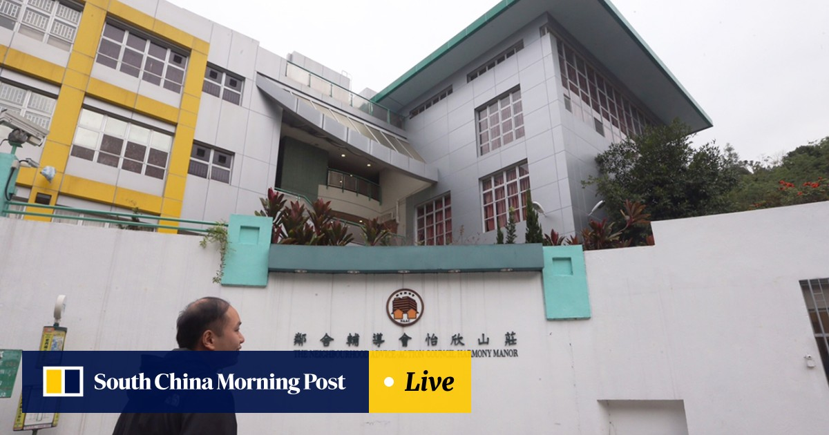 Police probe: Caregivers at Hong Kong home accused of sticking tape