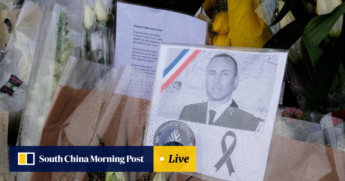 b0c030860 'It was a colonel, great!' French politician arrested for shocking tweet  celebrating policeman's death | South China Morning Post