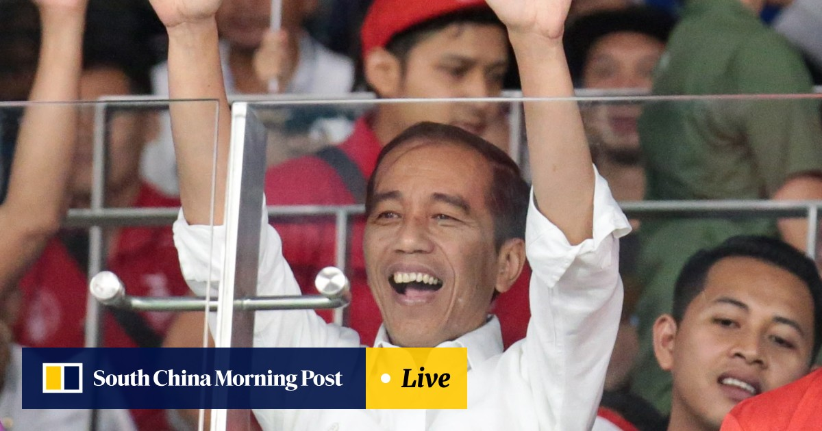 And the winner of the Asian Games is … Indonesian President Joko