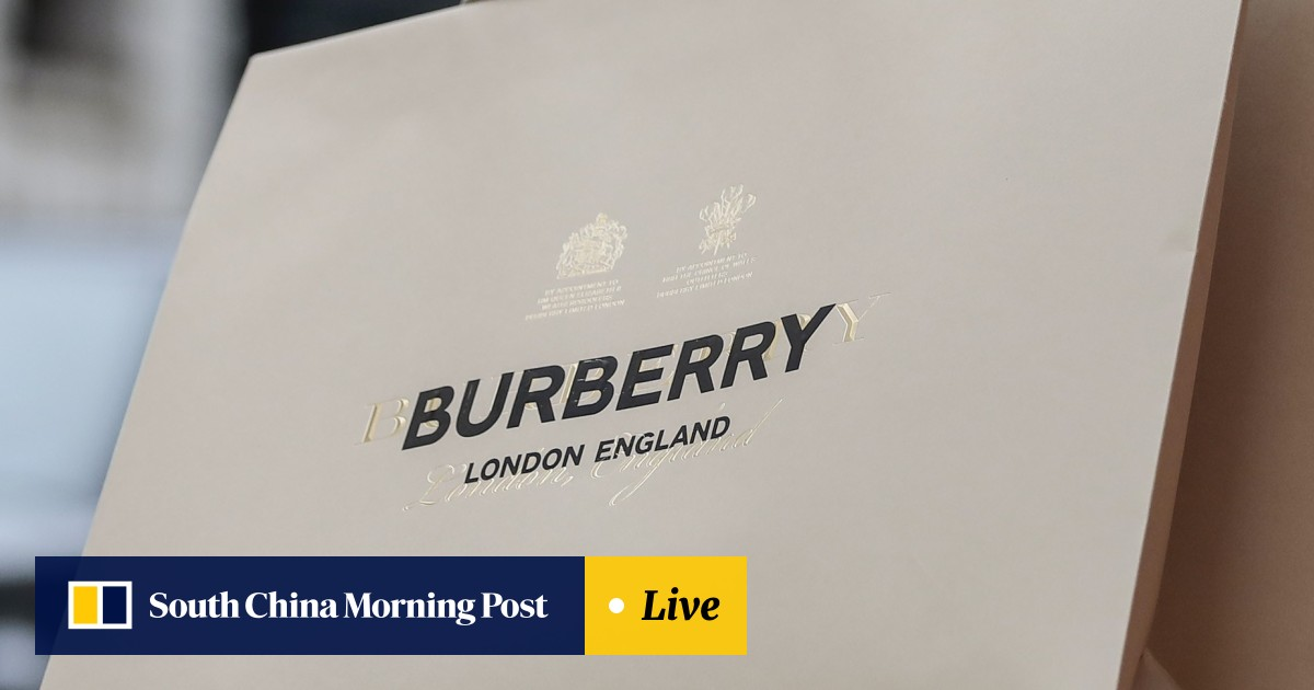 fd18d28ae Burberry's new designer transforms the storied brand with new logo ...