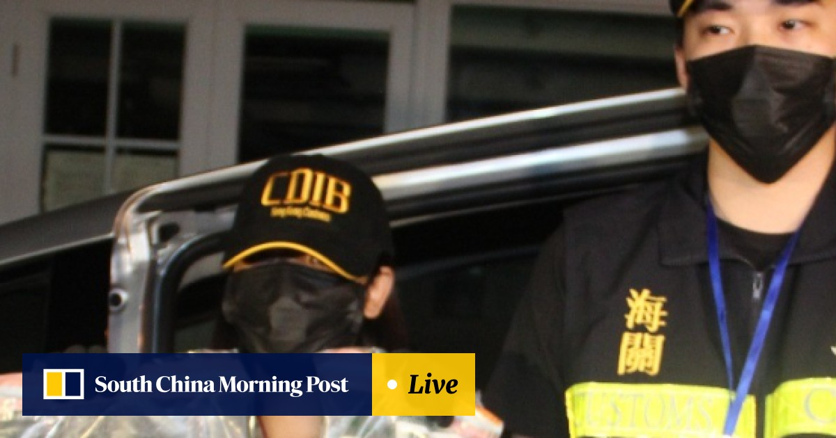 2fd87e92da Date rape drug and cocaine seizures soar as Hong Kong customs officials  work with international counterparts to crack down on problem