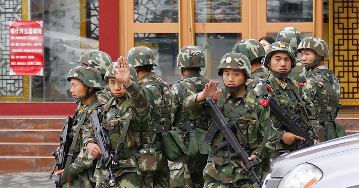 Xinjiang's party chief urges 'firm hand' in anti-terror