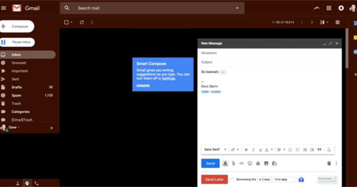 Gmail can now autocomplete entire emails with a new feature