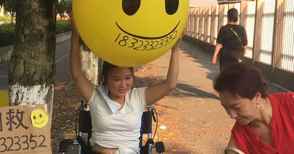 Meet the Chinese kidney patient selling a smile to survive