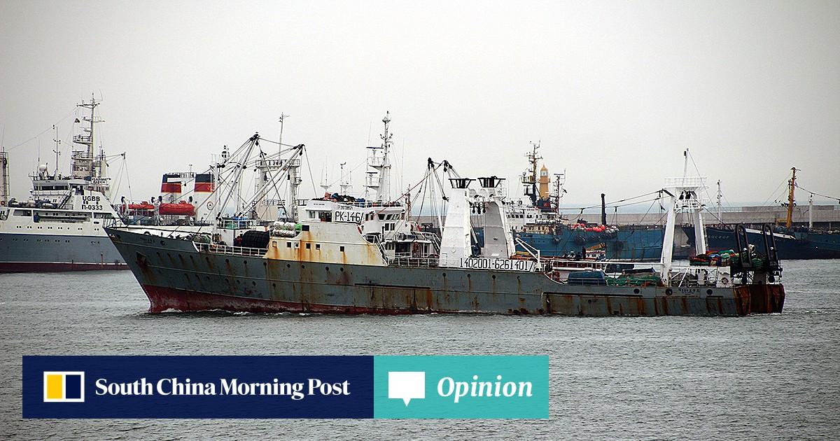 One dead, dozens missing as South Korean trawler sinks off