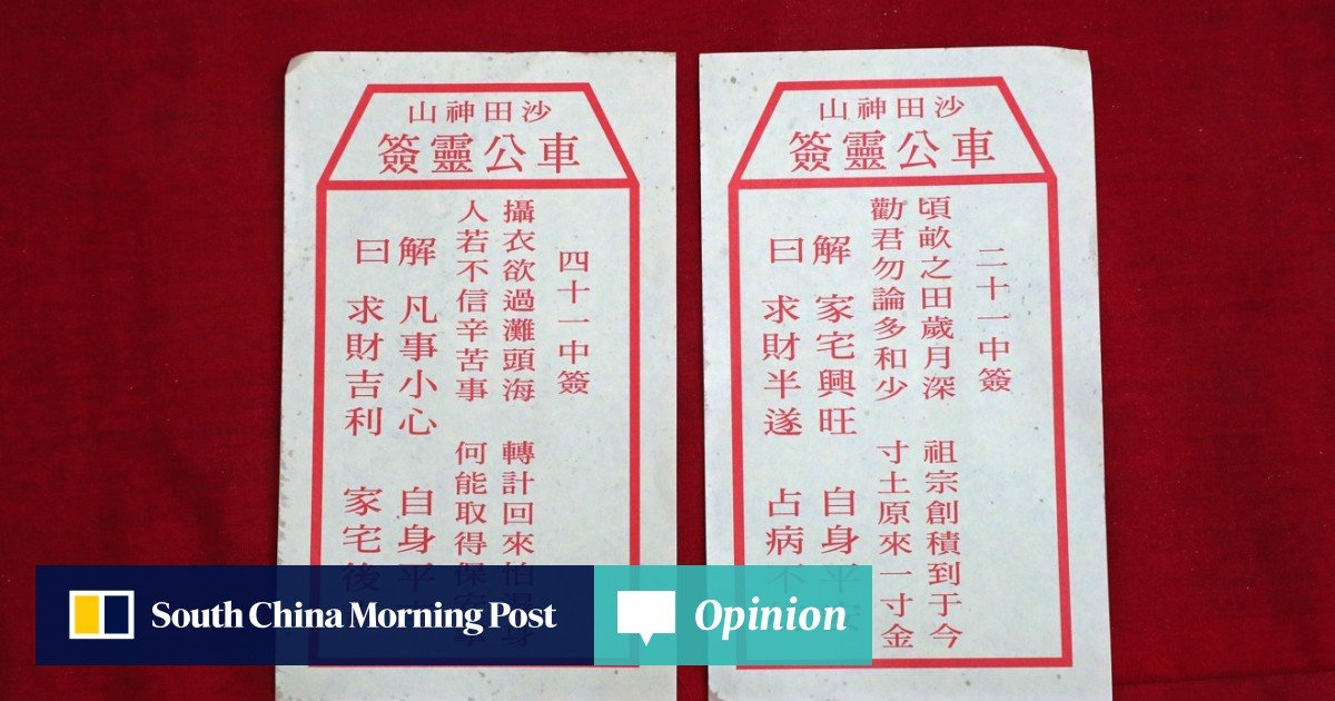 Why the fuss over pulling Hong Kong's fortune stick at Che Kung
