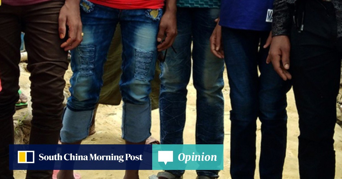 36a3a2d8 Rohingya refugees revel in the new-found right to wear trousers | South  China Morning Post