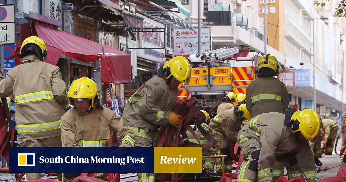 Mini-storage fire at Hong Kong industrial building prompts