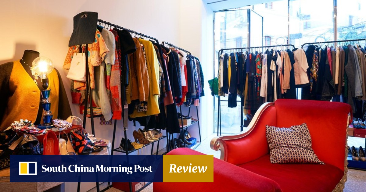 9be436e714ff China's fast-fashion antidote: second-hand stores and clothing swaps ...