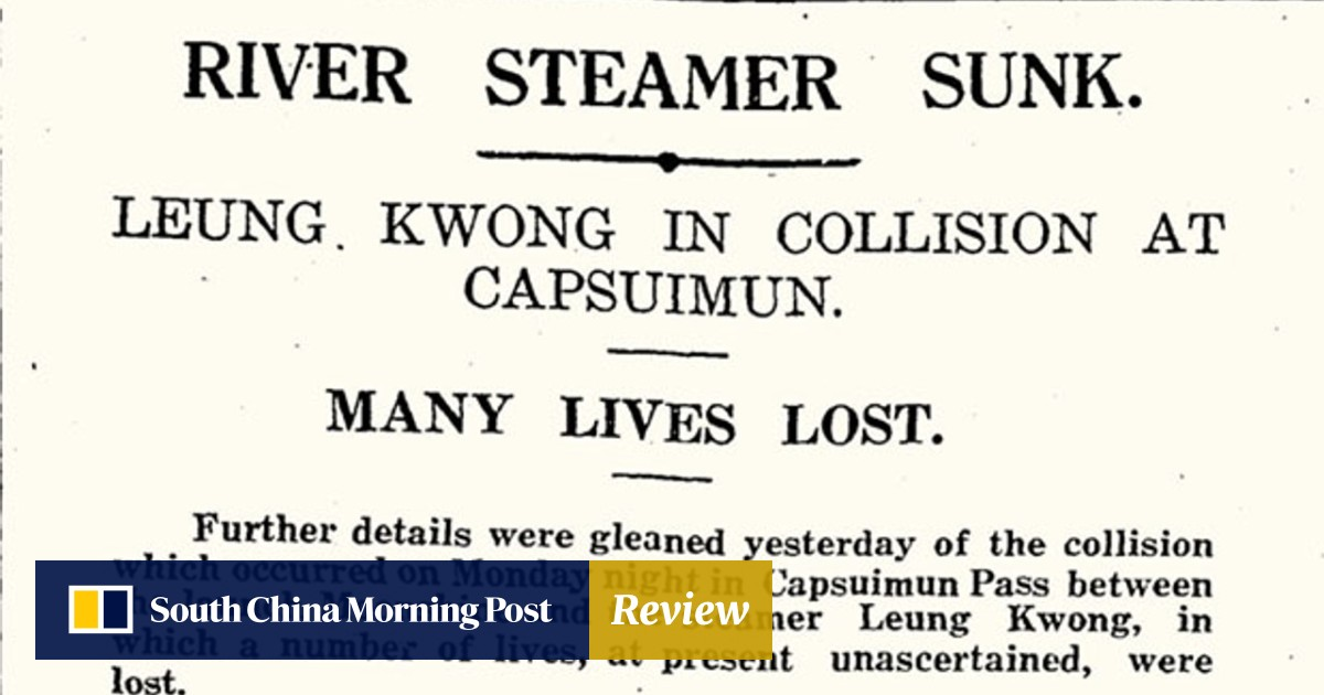 How tragic Hong Kong boat collision in 1927 claimed more