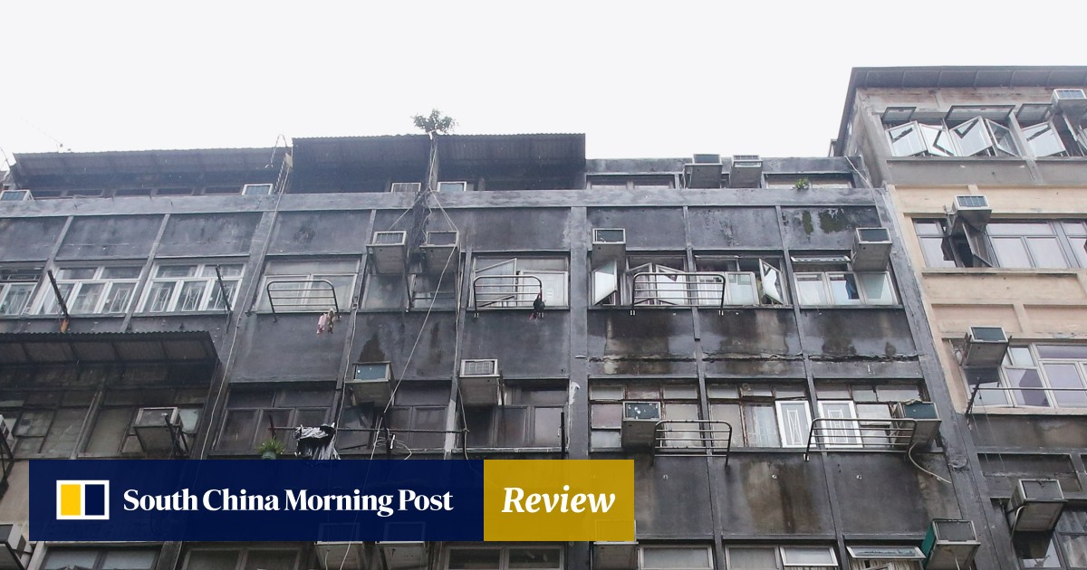 Ramshackle subdivided flats in Hong Kong's old buildings are