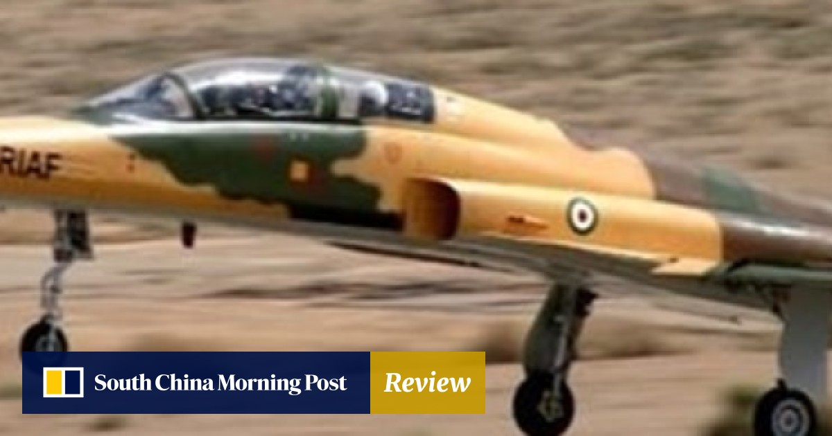 Iran unveils first domestic fighter jet  It looks a lot like