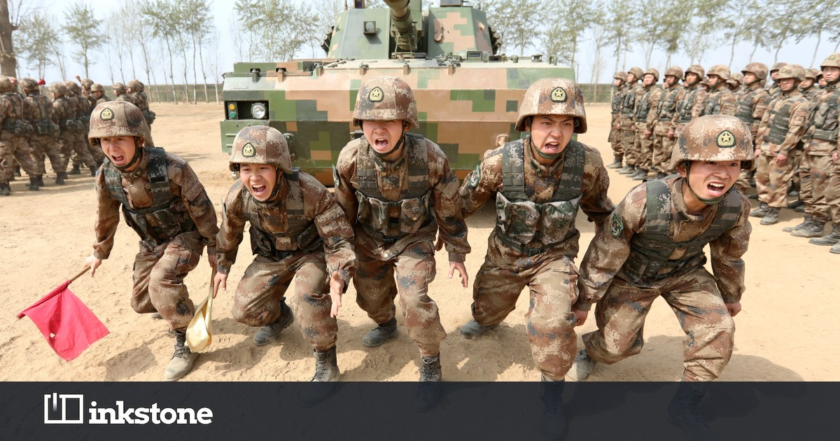 Join the army, see… China - Inkstone