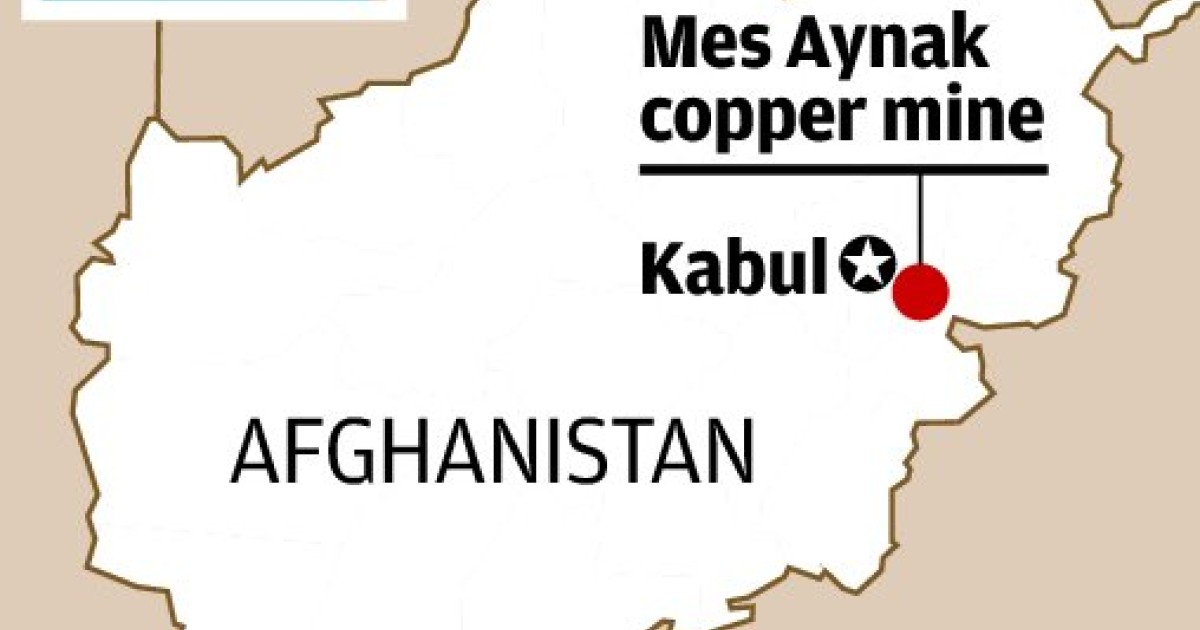 China's MCC turns back on US$3b Mes Aynak Afghanistan mine