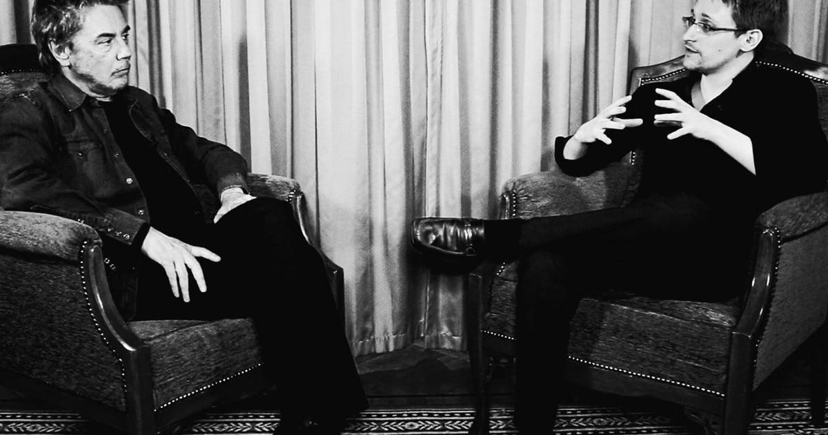 Why Jean-Michel Jarre invited Edward Snowden to collaborate on album