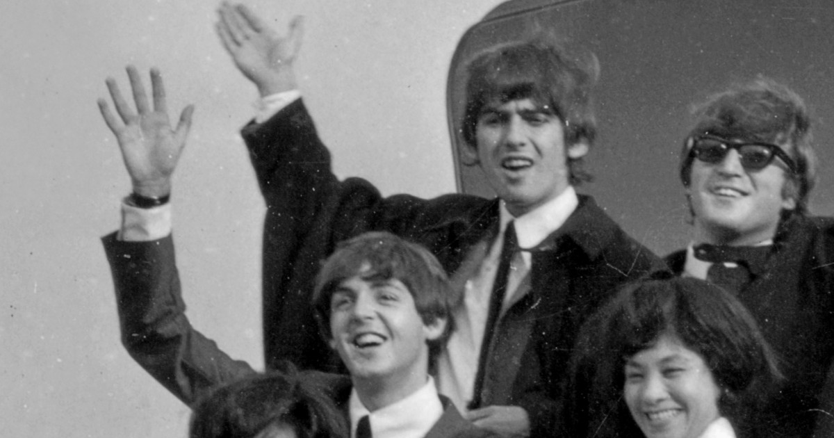 When The Beatles came to Hong Kong in June 1964, and screaming