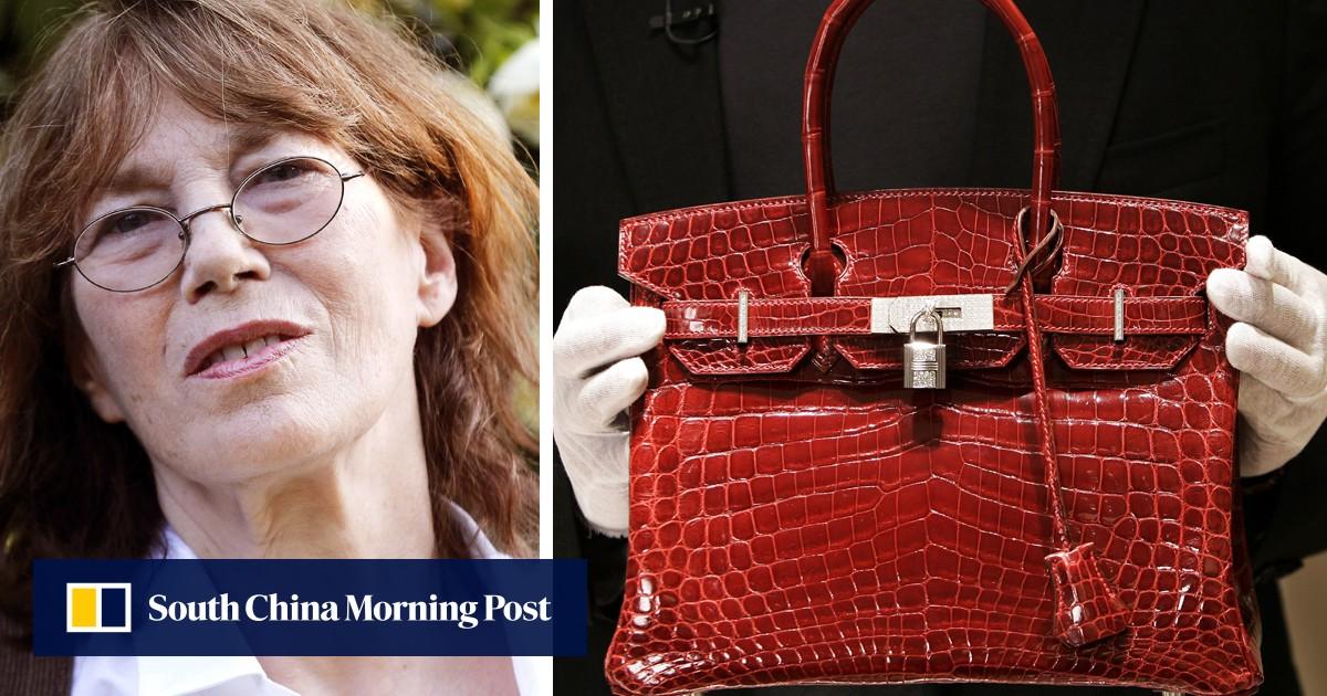 0a33e1669c7 Fashion victims  Jane Birkin asks Hermes to change  her  handbag s name