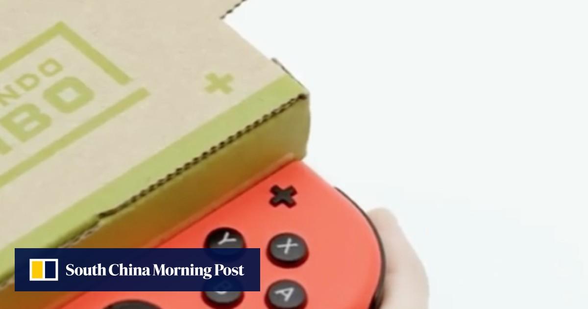 Nintendo's US$70 cardboard Switch accessory Labo causes internet