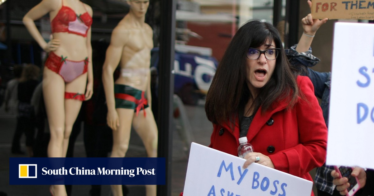 648d2fcedeb #MeToo momentum shows there's much more to do for gender equality before  #Time'sUp   South China Morning Post