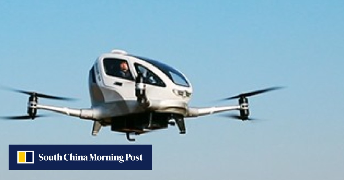Flying taxis? Uber has a competitor in Chinese drone maker