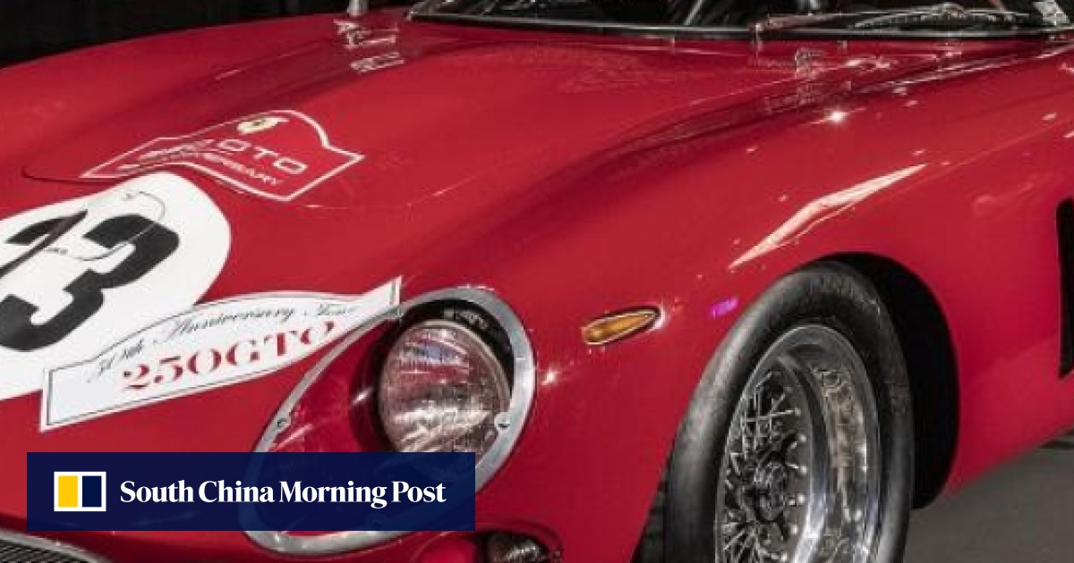 8bdc73df36c Two rare Ferrari 250 GTOs sell for record total of US$130 million ...