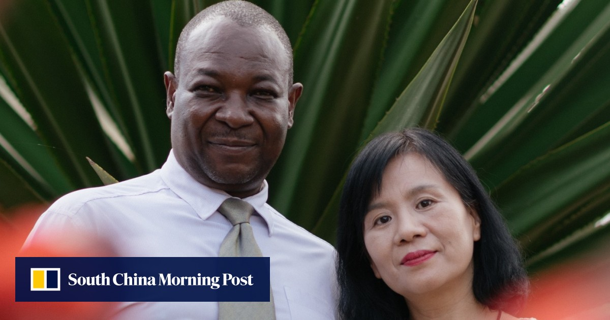 The interracial couple championing China's soft power in