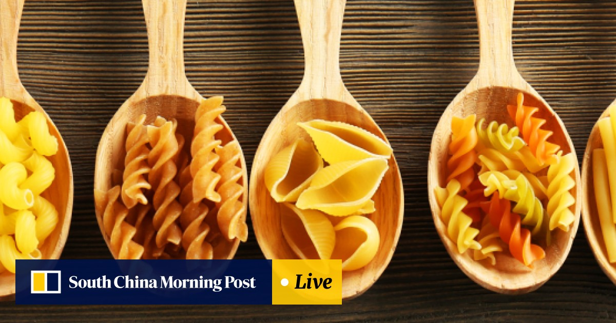 Recipe book: The Geometry of Pasta, in all shapes and sizes