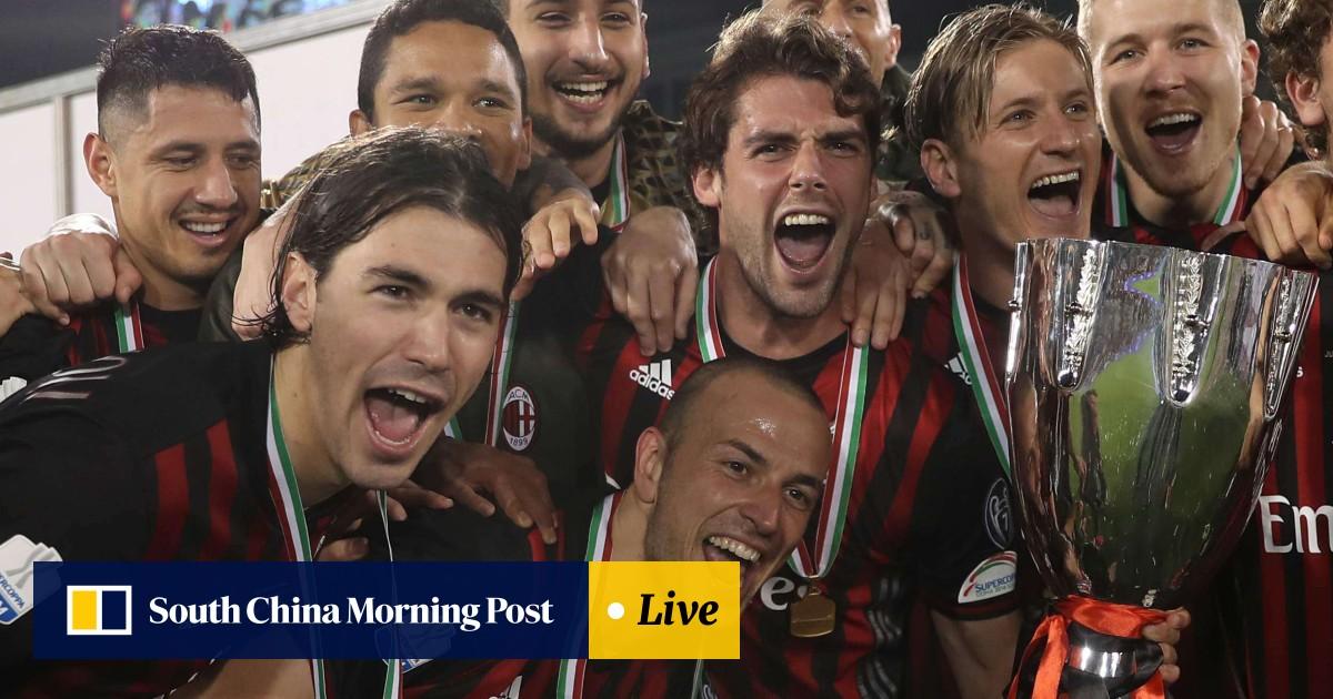 Joy as AC Milan beat Juventus to win Italian Super Cup in