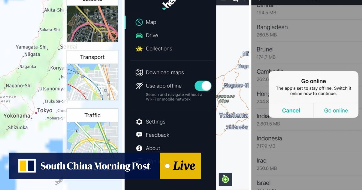 Three best offline map apps for road trips and GPS