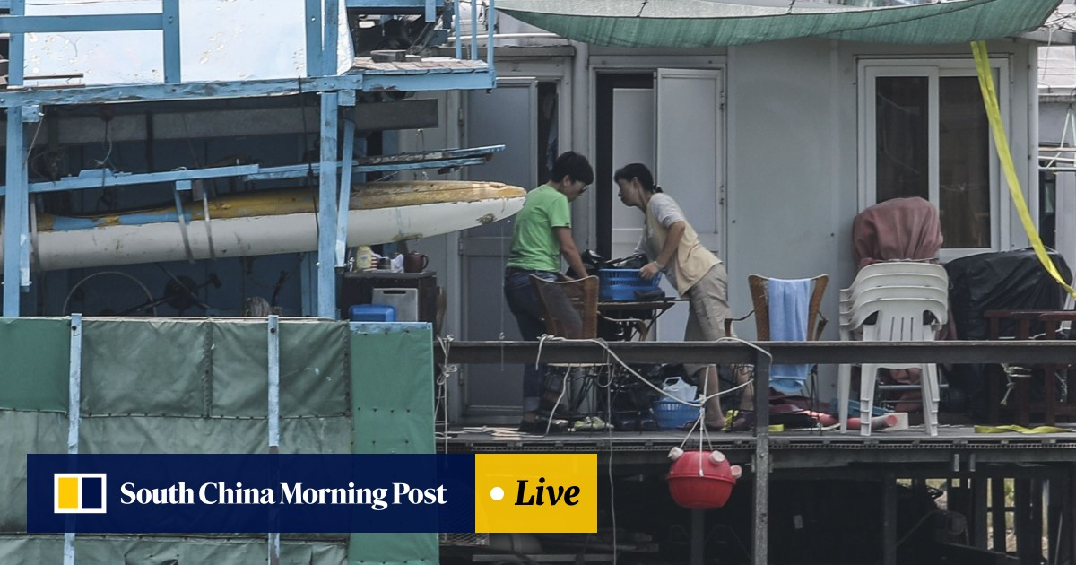 As Super Typhoon Mangkhut nears southern China, some Hong Kong