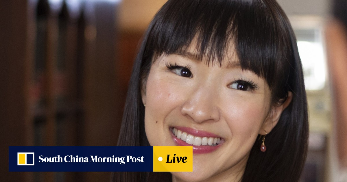 Decluttering queen Marie Kondo on books: what has she got against