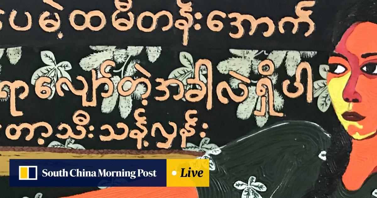 Myanmar artist's Hong Kong exhibition taps Buddhism
