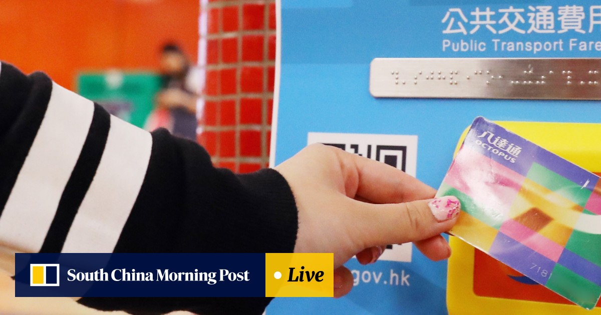 77557dbe07a Hong Kong transport subsidy scheme launches with minor hiccups for  tap-and-go Octopus card top-ups at stores   South China Morning Post