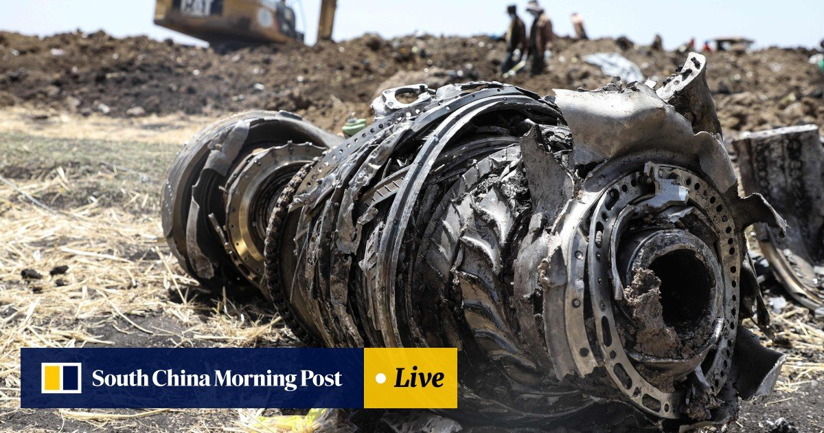 Boeing shares plunge after second deadly crash of its 737