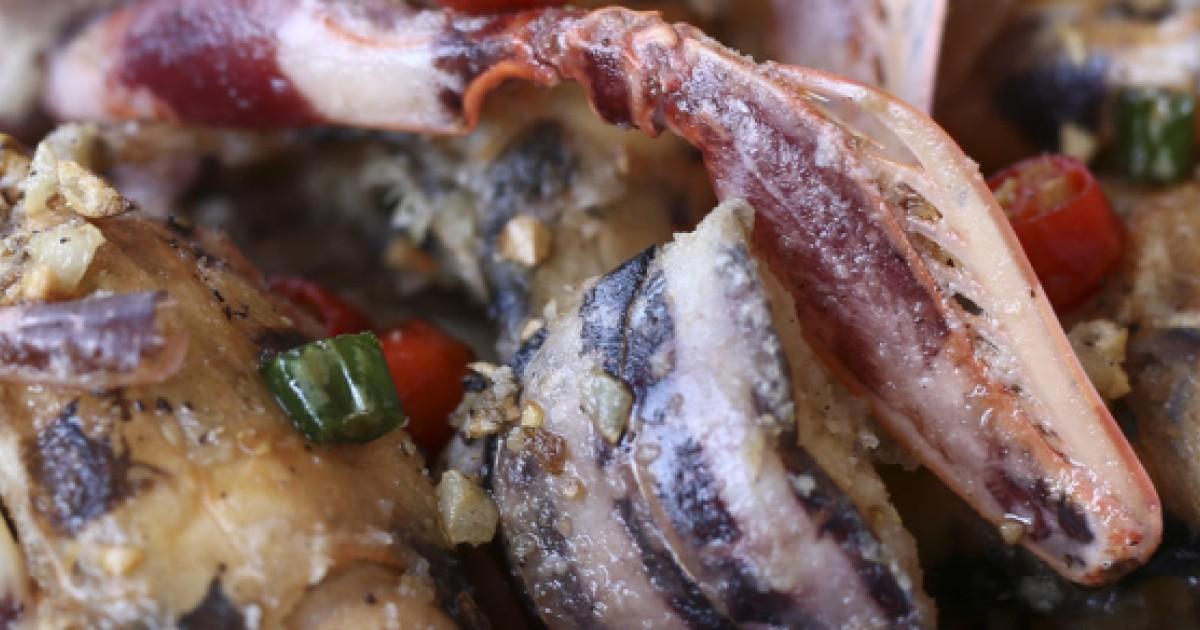 Susan Jung's recipes for mantis shrimp, aka p***ing prawns