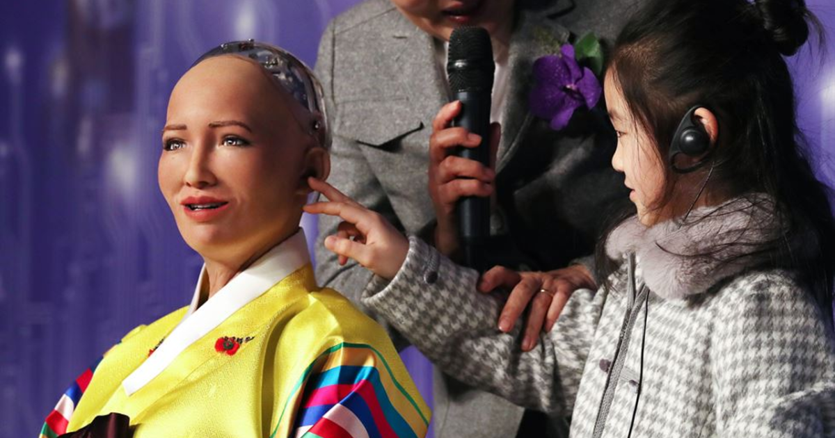 AI robot Sophia speaks about her future in South Korea | South China
