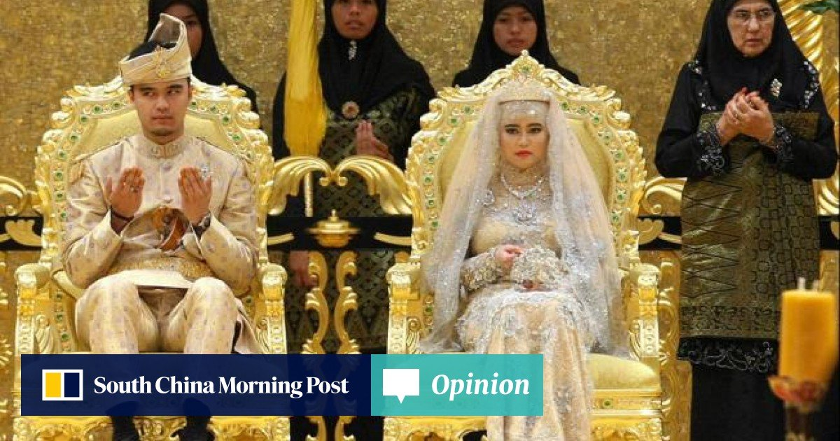 Sultan of Brunei's daughter marries in a lavish and elaborate
