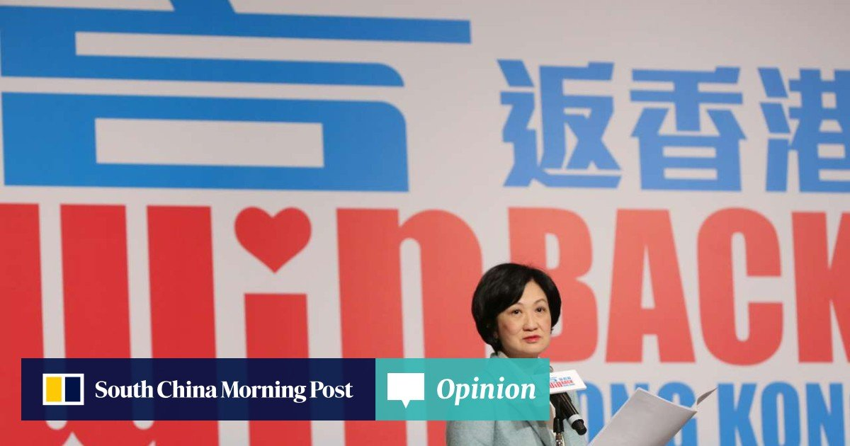 A conspiracy theory for Hong Kong's leadership race right out of a
