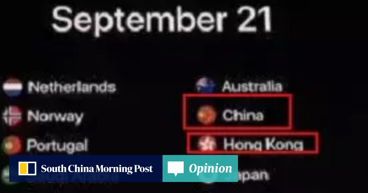 Why are Taiwan and Hong Kong separate from China?': Chinese raise